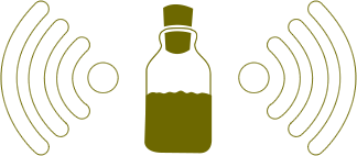 Immagine stilizzata bottiglia Mierdadevacas
